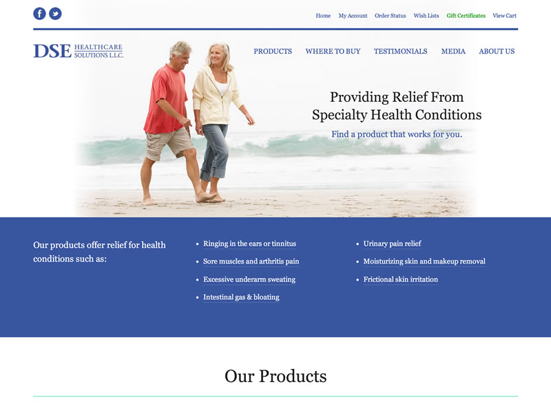 Visit DSE Healthcare Solutions, LLC's website