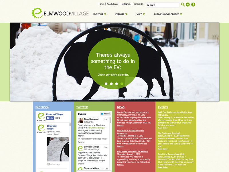 Visit The Elmwood Village Association's website