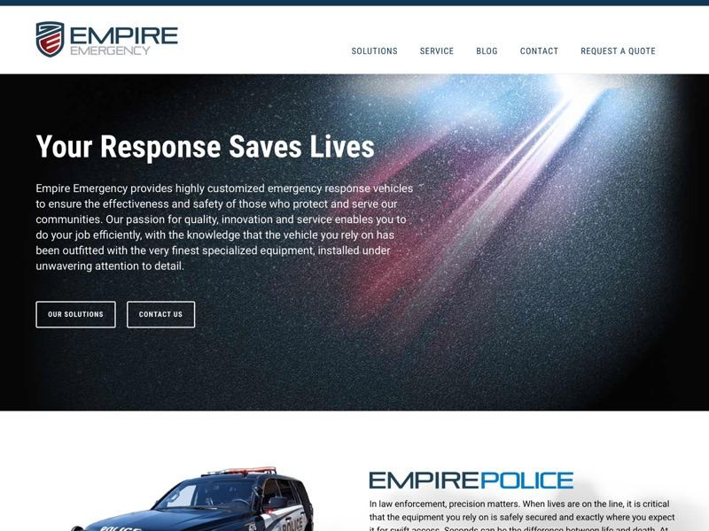 Visit Empire Emergency's website