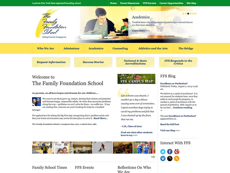 Visit The Family Foundation School's website