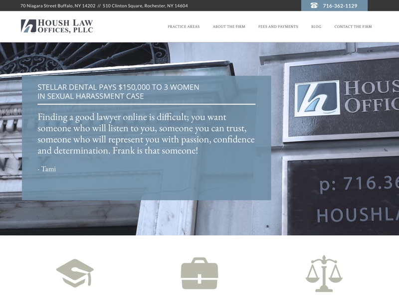 Visit Housh Law Offices, PLLC.'s website