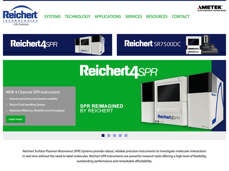 Visit Reichert Technologies Life Sciences's website